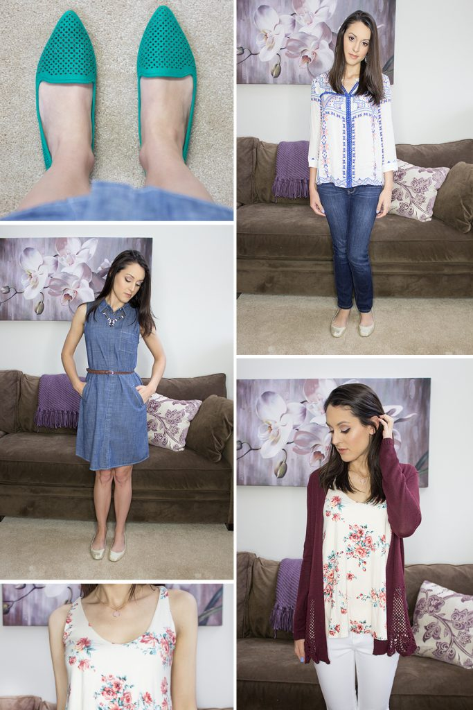 Spring 2016 Stitch Fix Outfits