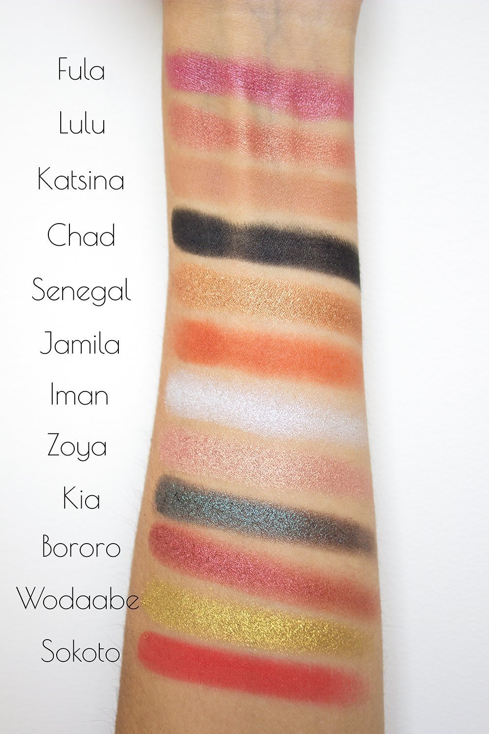 Juvia's Place The Saharan Eyeshadow Palette Review - Little Blushing ...