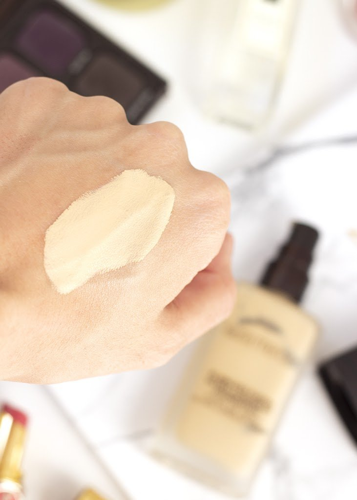 Laura Mercier Flawless Fusion Foundation Swatched