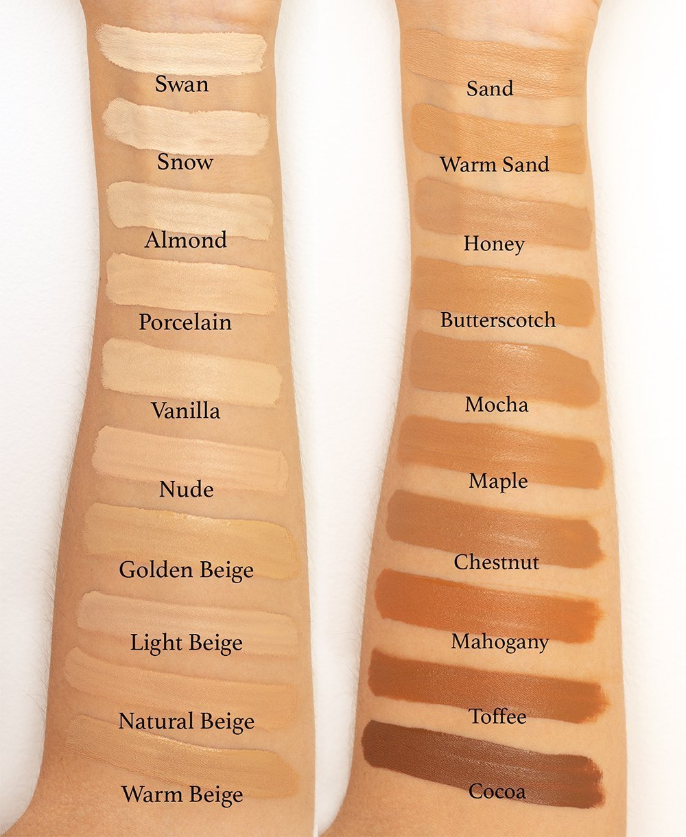 Too Faced Born This Way Multi-Use Sculpting Concealer Swatches