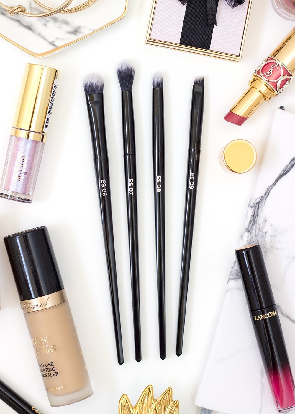 Juno & Co. eye makeup brushes
