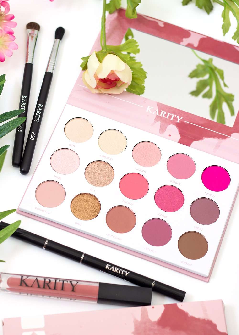 Karity Rosé All Day Eyeshadow Palette