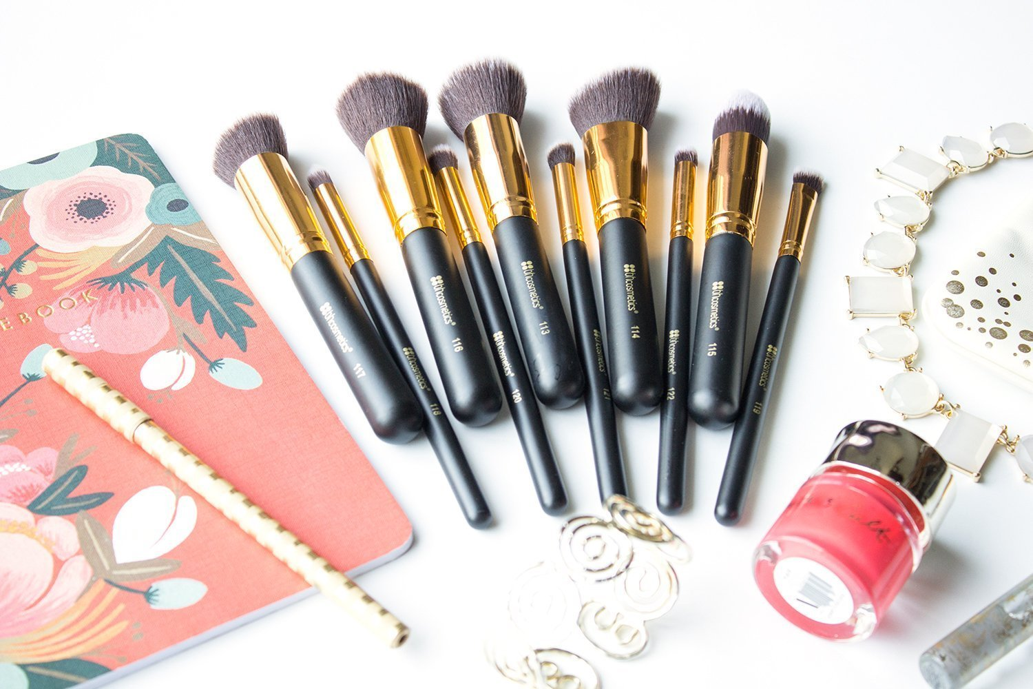 6c3acf94dcaf BH Cosmetics Sculpt and Blend Brush Set Review - Little Blushing Birdie
