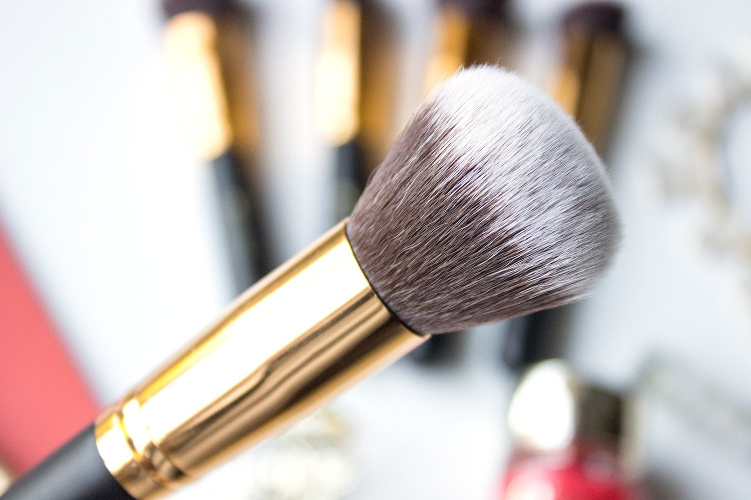 136d57942b9b7 113 Round Blending Face Brush. I really love using this brush for buffing  in liquid foundations. It ll give you that perfect