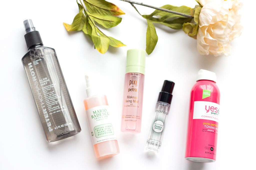 Skincare Trends Facial Mists Setting Sprays Little