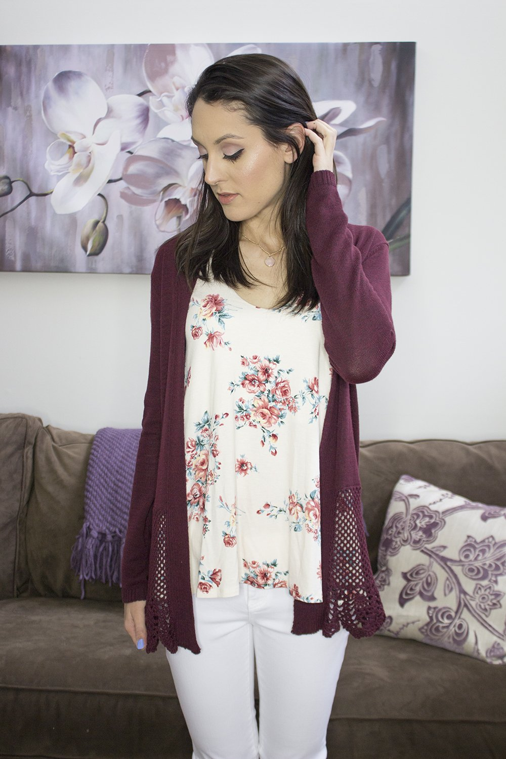 Stitch Fix Spring 2016: Papermoon Maikai Halter Swing Knit Tank Top & Lila Ryan Dorianna Skinny Jeans