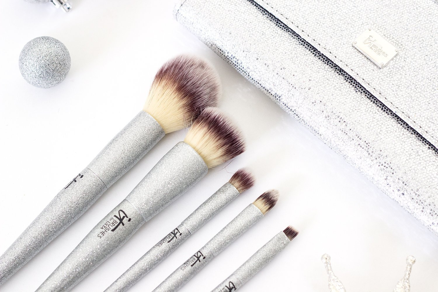 All That Glitters It Cosmetics For Ulta Brush Set Review Little