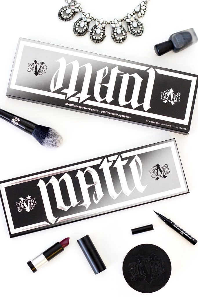 Kat Von D Beauty Metalmatte Eyeshadow Palette Review Little