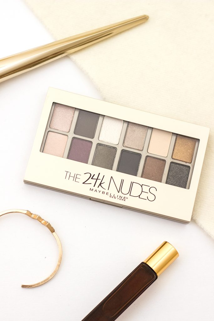 Maybelline 24K Nudes Eyeshadow Palette Review