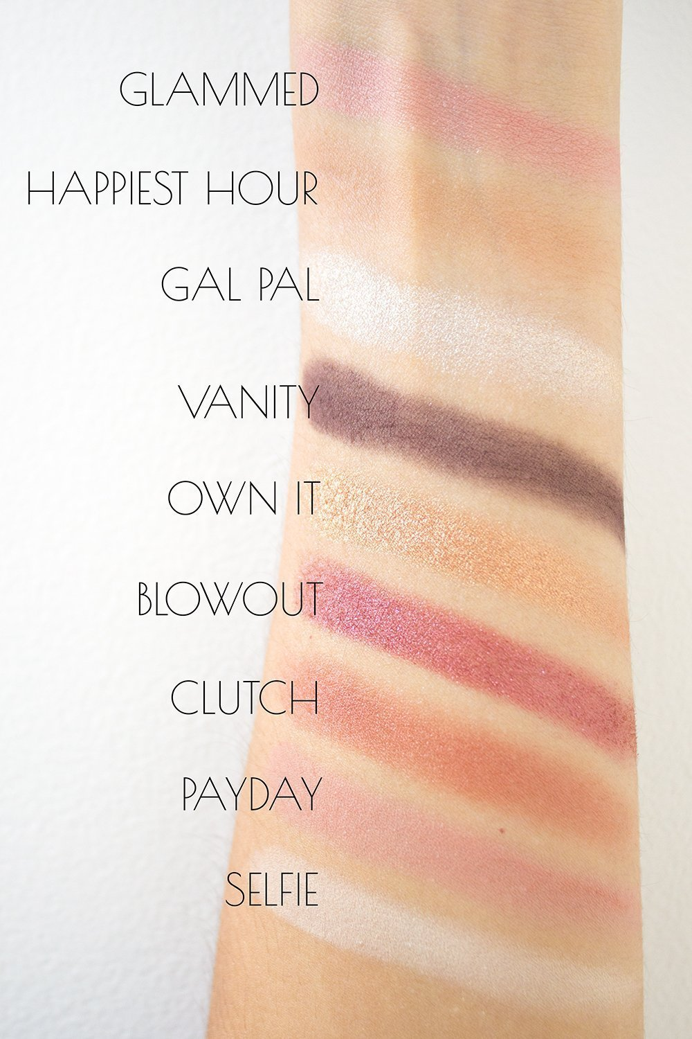 Good for You Glamour Swatches