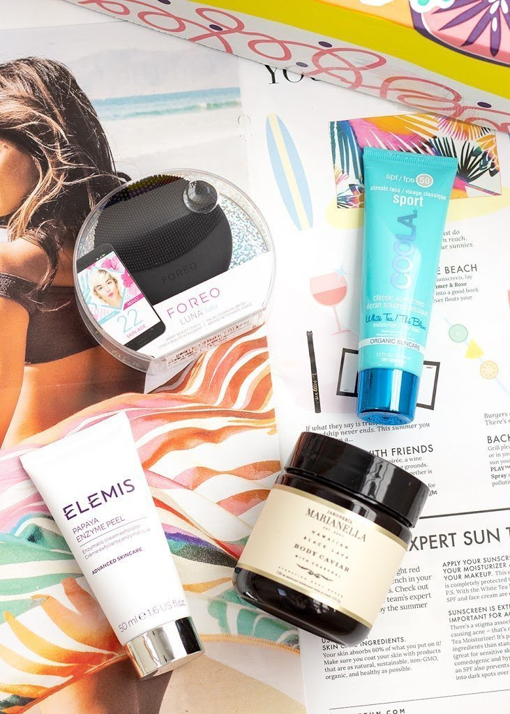 Summer 2018 FabFitFun Skincare Products