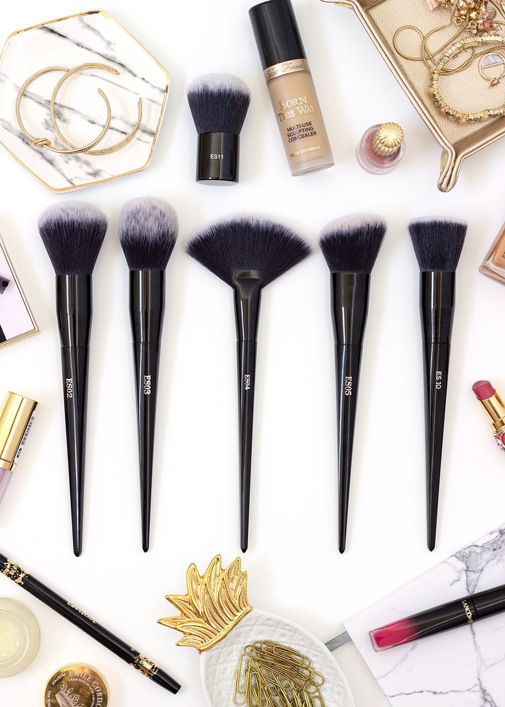 Juno & Co. Face Brushes