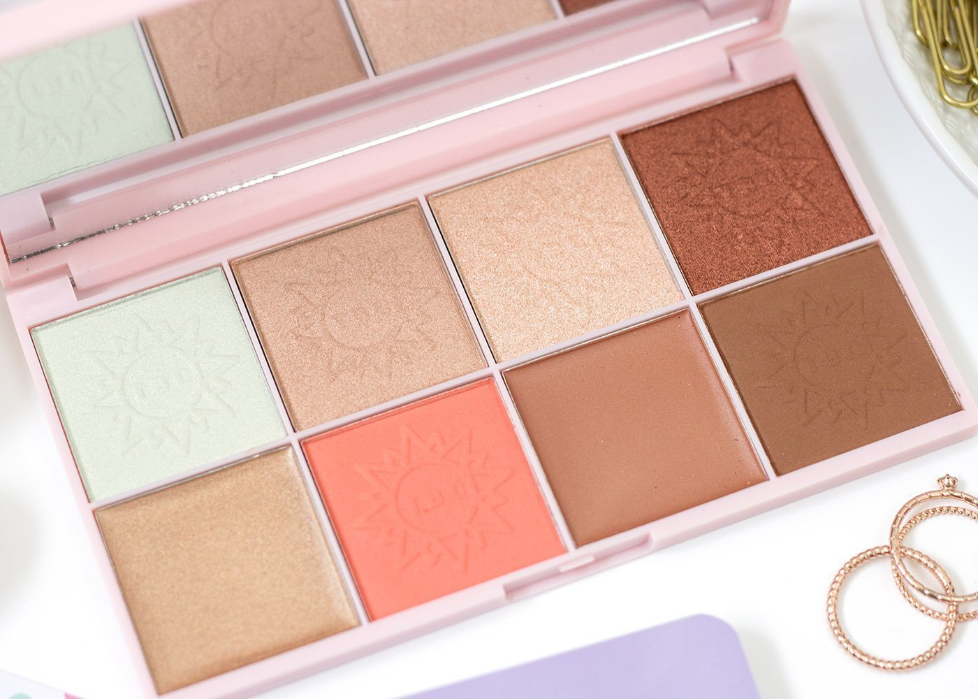 The Beauty Crop Travel Tea Palette in Moroccan Sun
