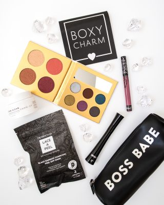October 2018 Boxycharm Flatlay