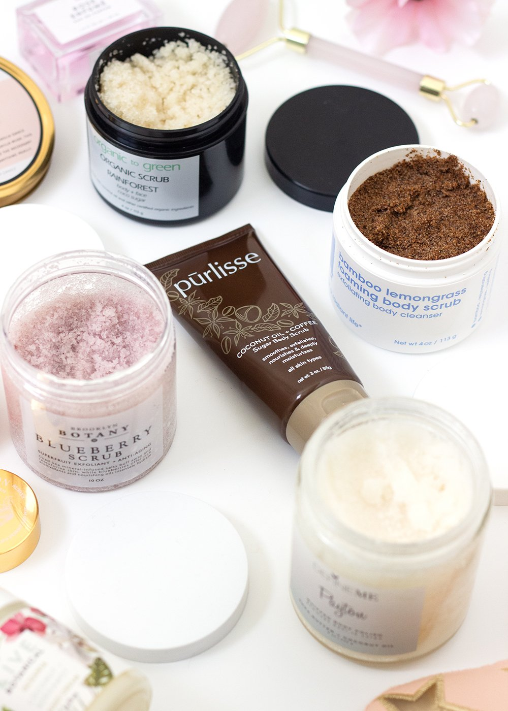 5 Body Scrubs I Can't Stop Using