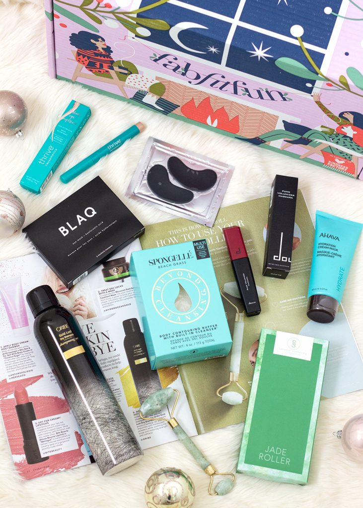 FabFitFun Winter Box 2018