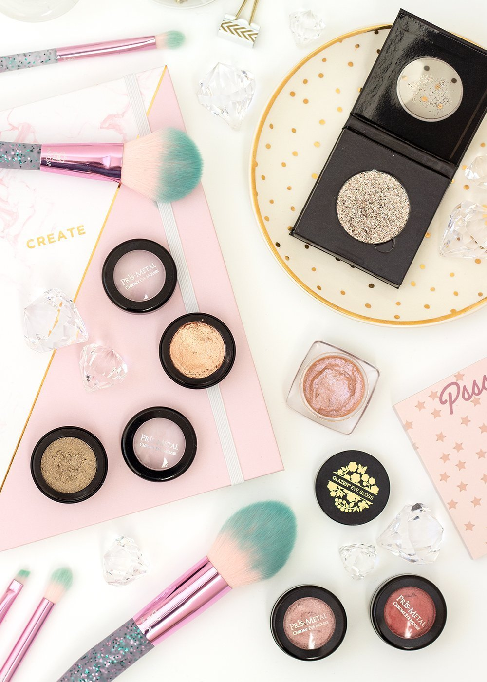 Best Cream Eyeshadows #Makeup #Beauty #glitter