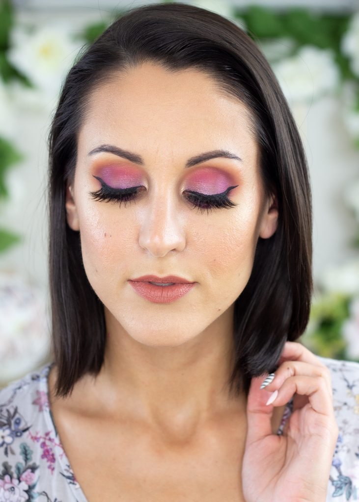 Anastasia Beverly Hills Jackie Aina Palette Review Look