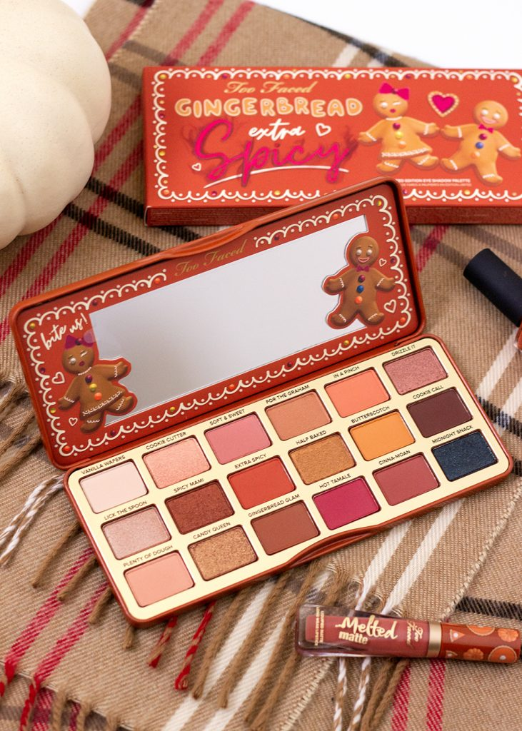 Too Faced Extra Spicy Gingerbread Eyeshadow Palette Review