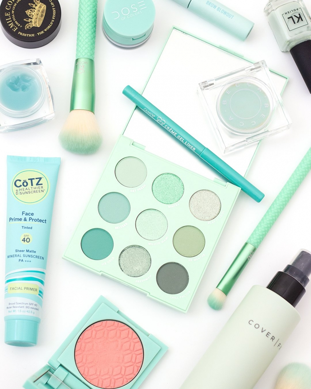 Shop the ColourPop Mint to Be Palette